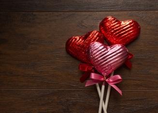 Foil Choco Hearts