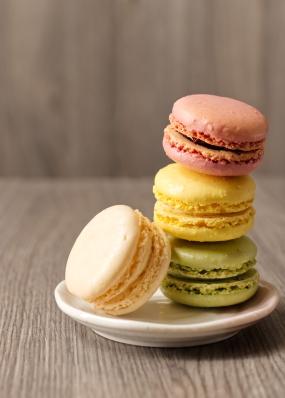 Macarons Colour Stack